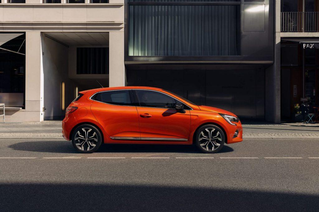 De huidige Clio V, ook leverbaar als E-Tech Hybrid