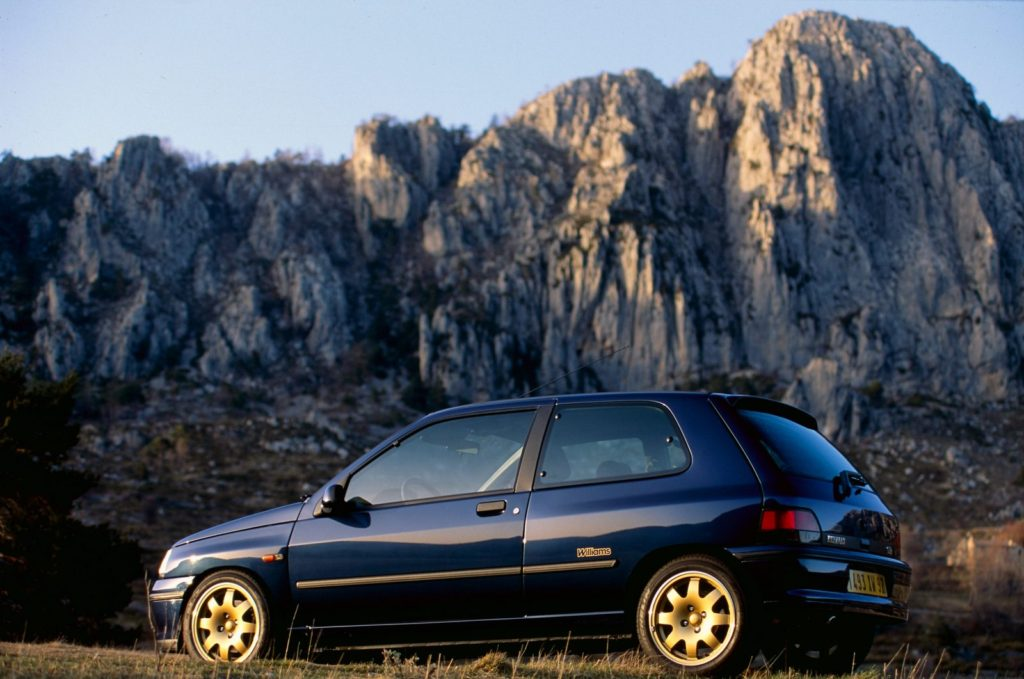 De iconische Clio Williams