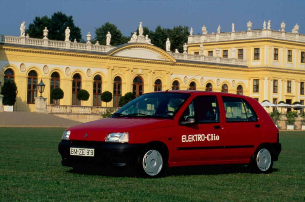 De Clio I uit 1990