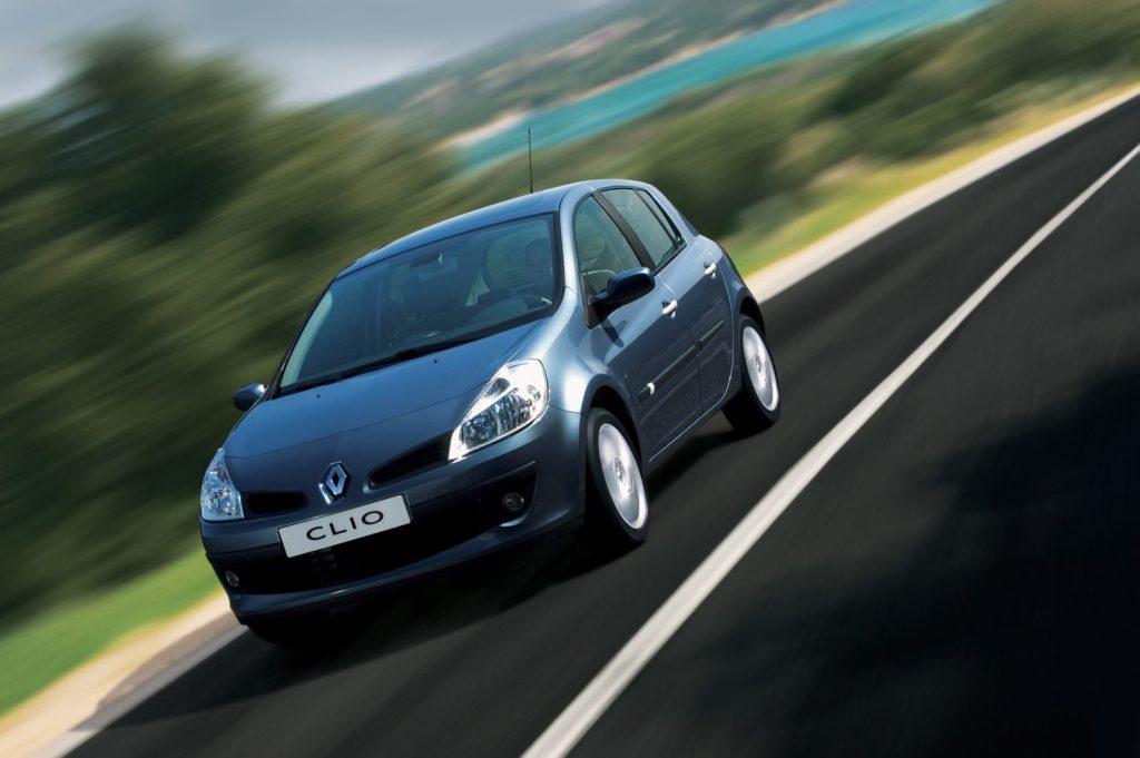 De Clio III uit 2005